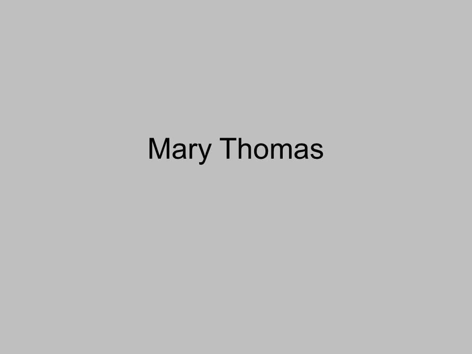 Mary Thomas
