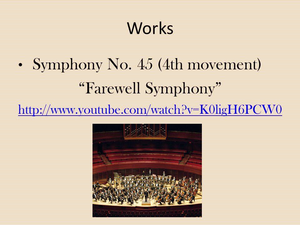 Works Sonata No. 62 http://www.youtube.com/watch?v=kdg1js3dFpI