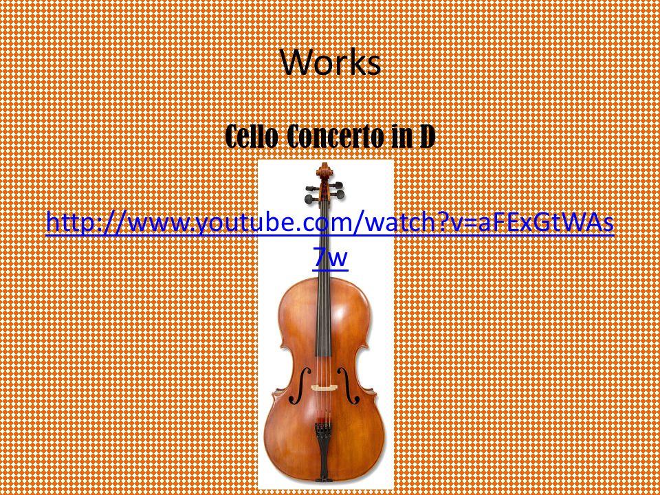 References http://www.oxfordmusiconline.com Joseph Haydn by Wendy Thompson Haydn by J.