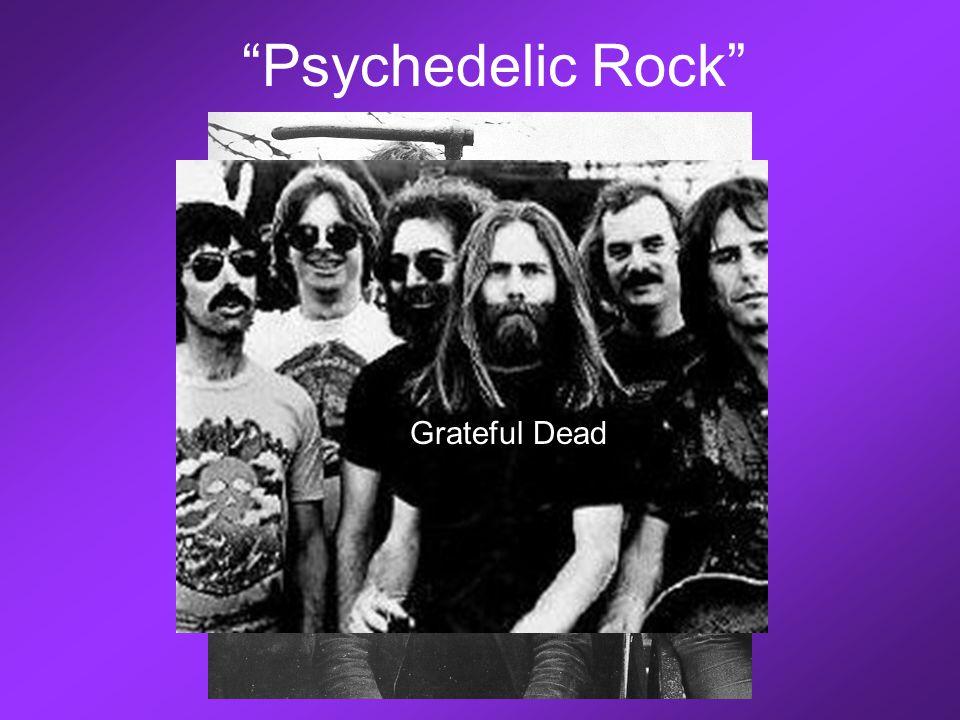Psychedelic Rock Pink Floyd Grateful Dead