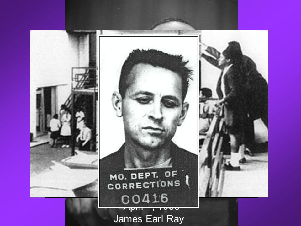 Lorraine Motel, Memphis, Tennessee April 4, 1968 James Earl Ray
