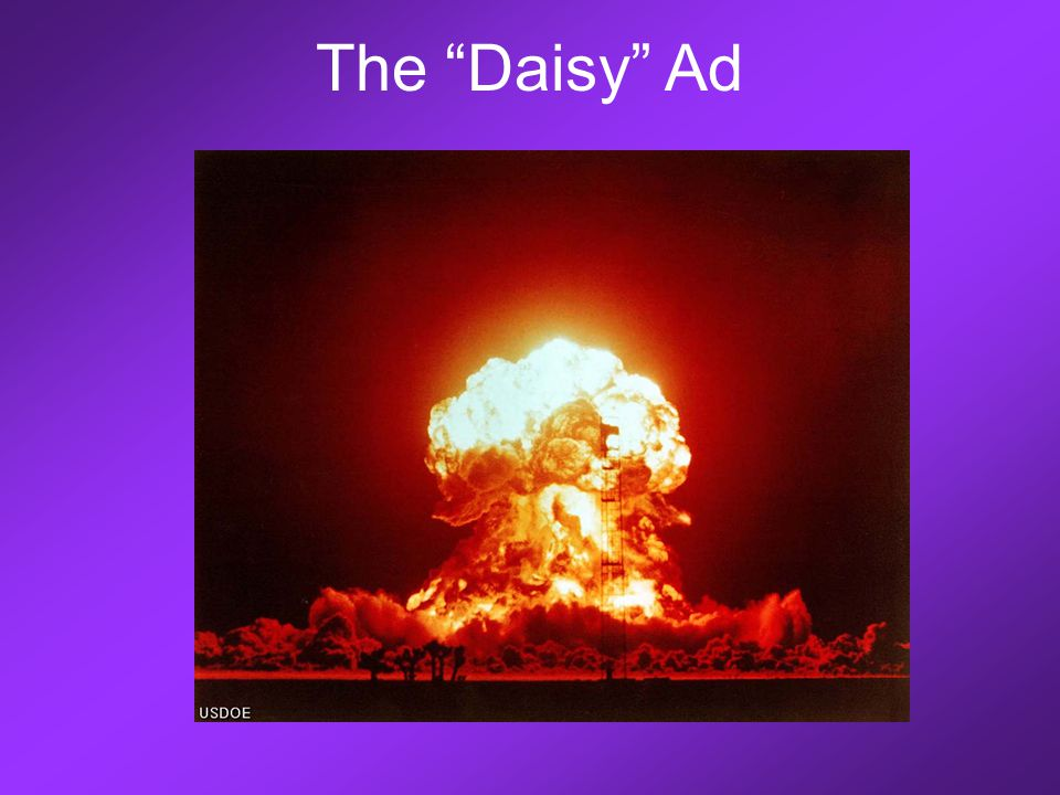 "The ""Daisy"" Ad"