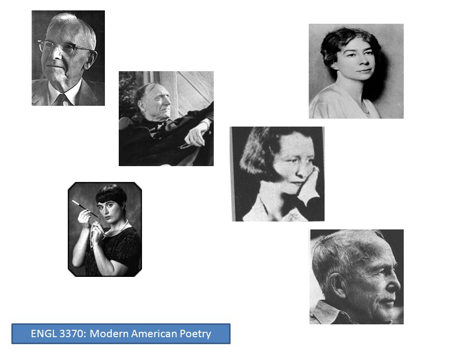New Criticism ENGL 3370: Modern American Poetry