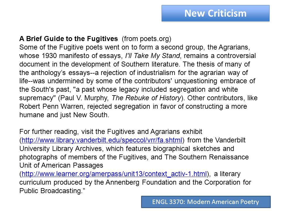 Archibald MacLeish (1892-1982) ENGL 3370: Modern American Poetry