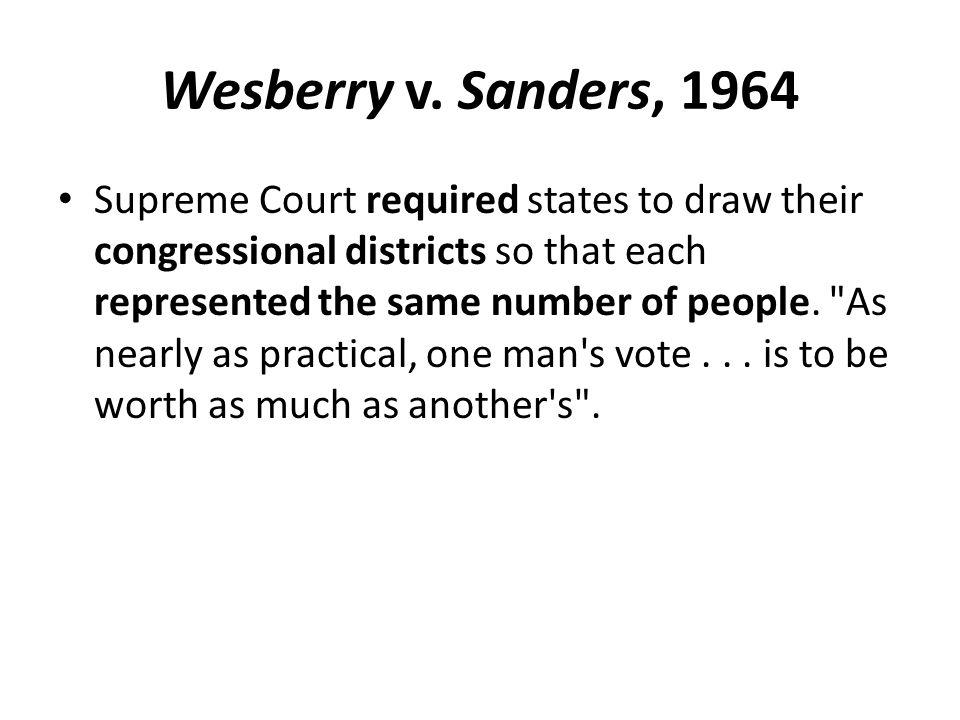 Wesberry v.