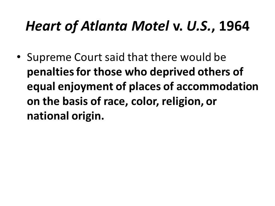 Heart of Atlanta Motel v.