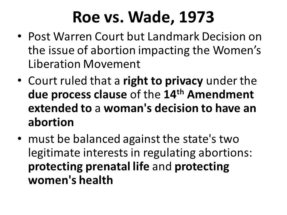 Roe vs.