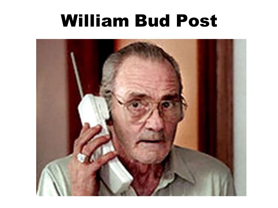 William Bud Post