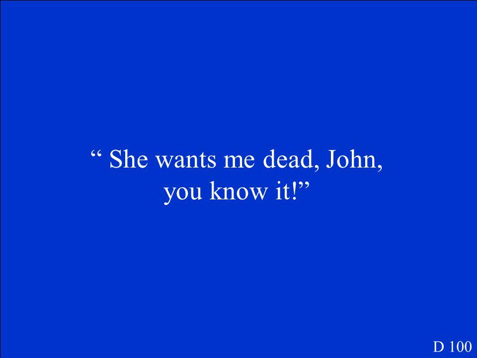 Who is John Proctor C 500