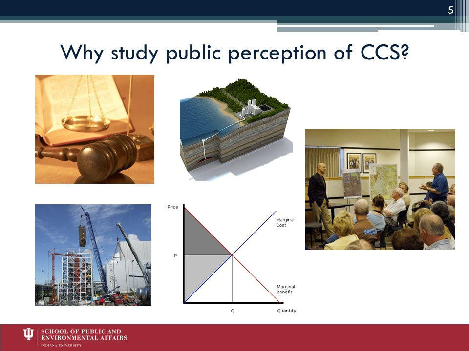 Why study public perception of CCS 5