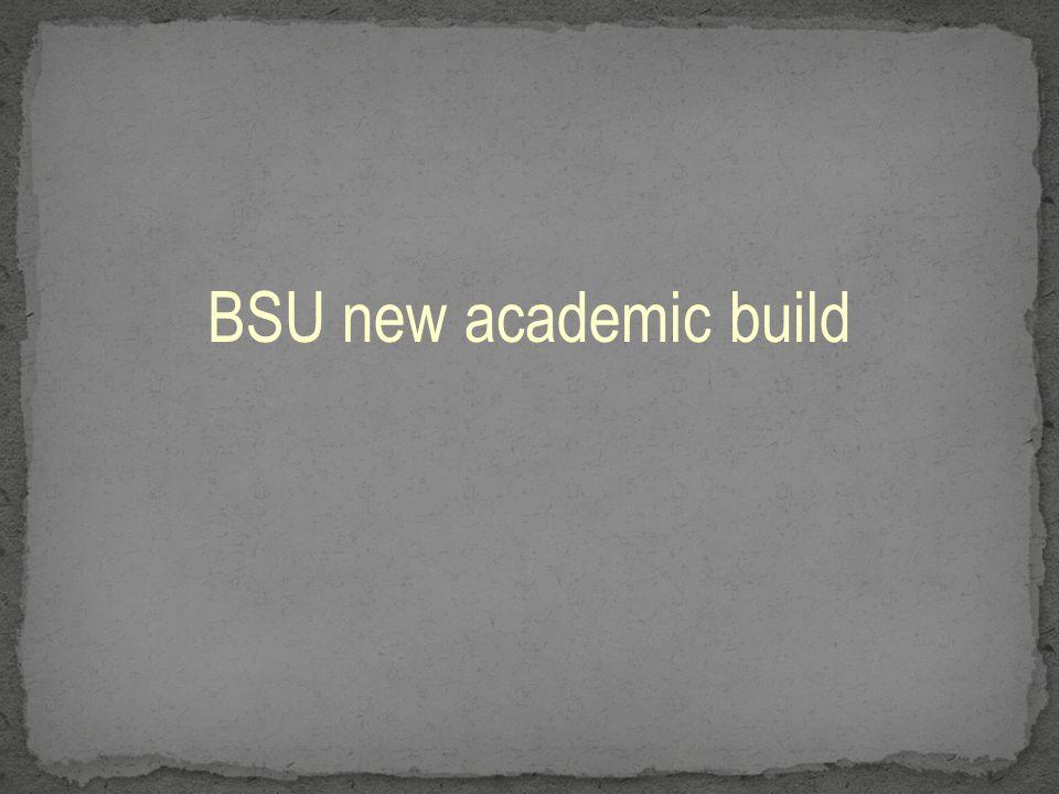 BSU new academic build