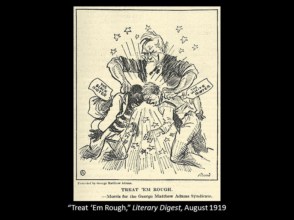 Treat 'Em Rough, Literary Digest, August 1919