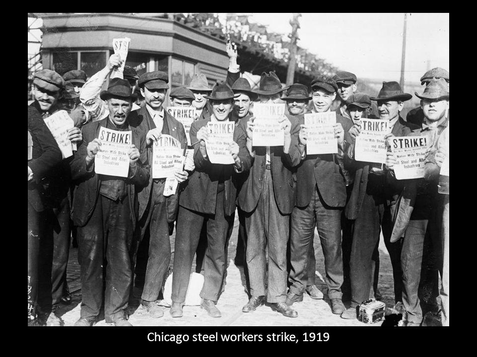 Chicago steel workers strike, 1919