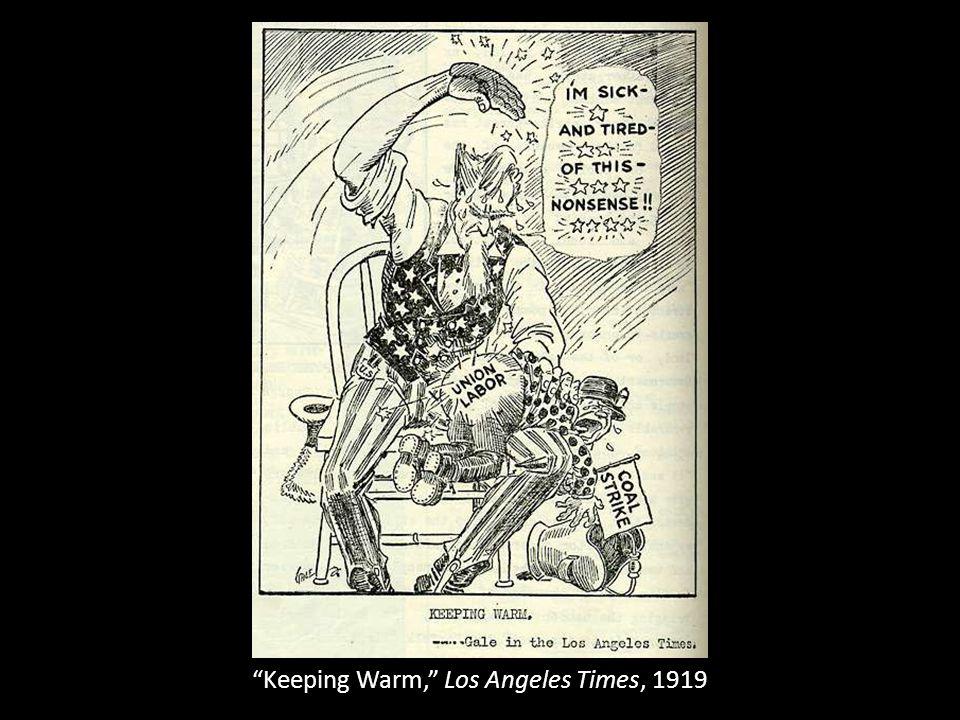 Keeping Warm, Los Angeles Times, 1919