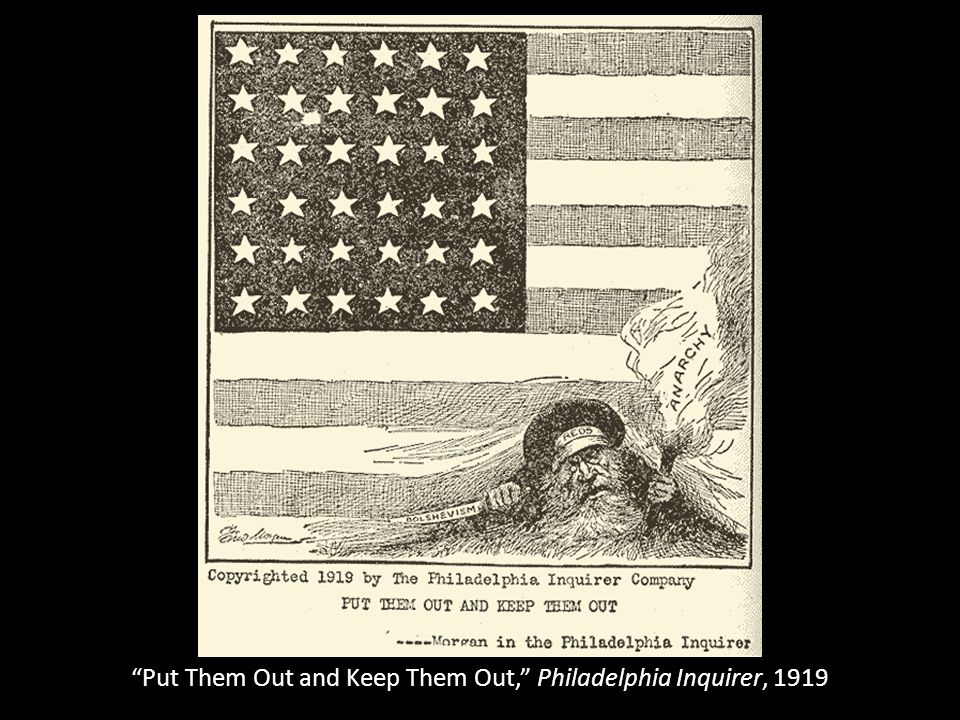 Put Them Out and Keep Them Out, Philadelphia Inquirer, 1919