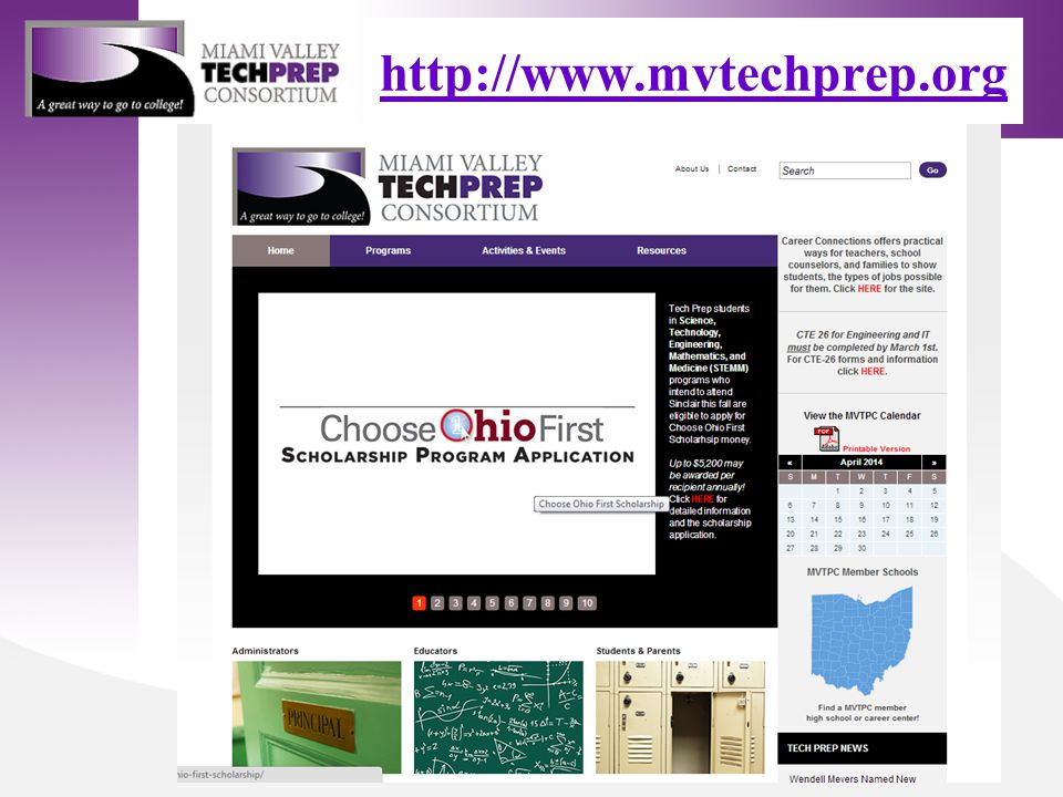 http://www.mvtechprep.org Launching the New Tech Prep Website.