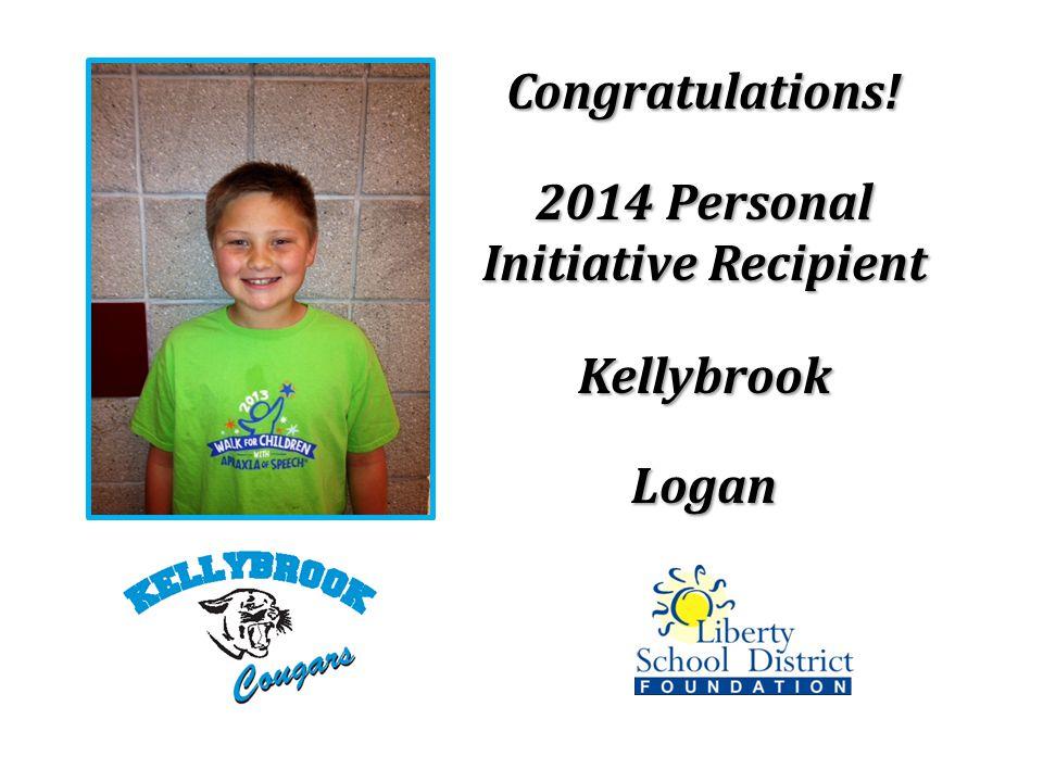 Congratulations! KellybrookLogan
