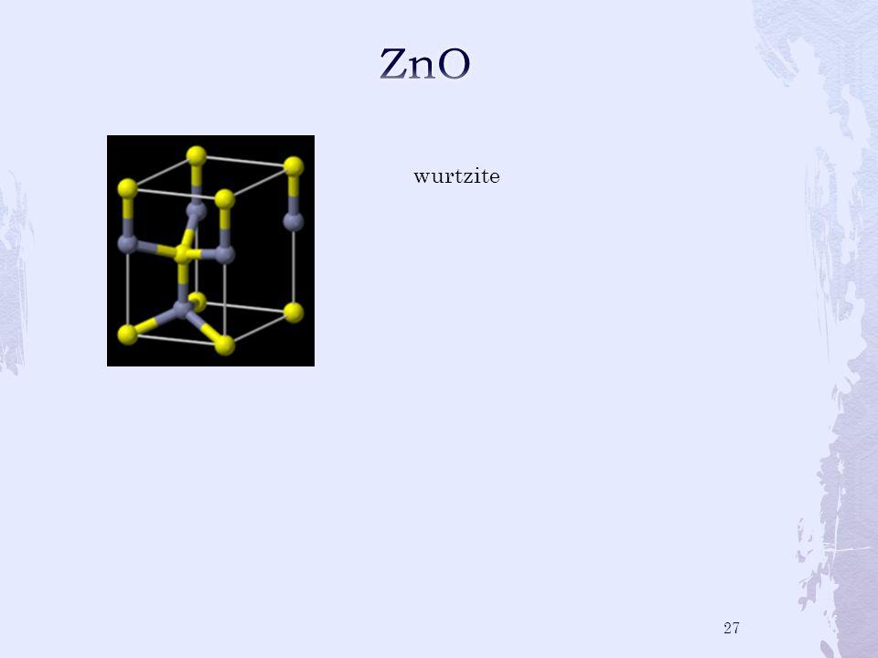 wurtzite 27