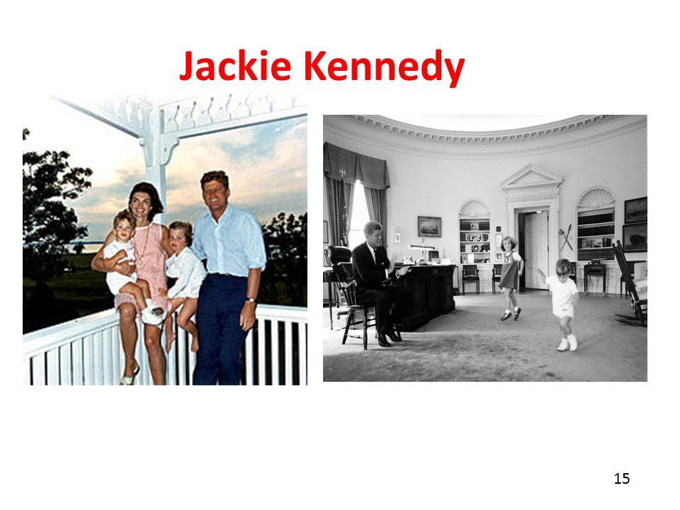 15 Jackie Kennedy