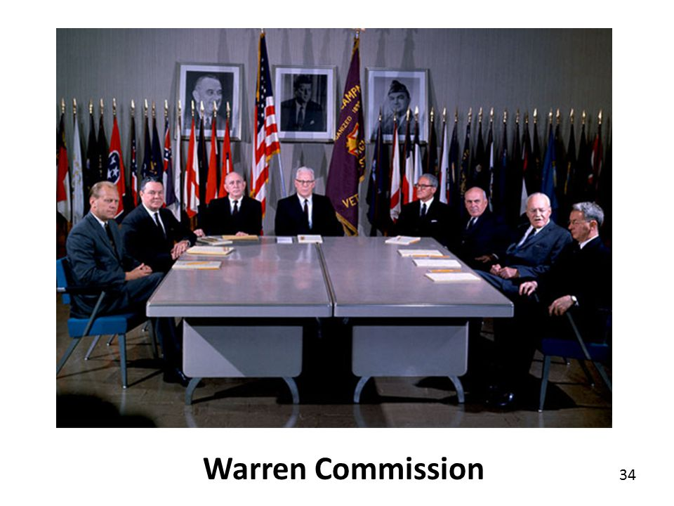 34 Warren Commission
