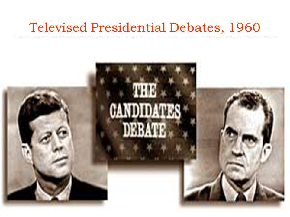 Televised Presidential Debates, 1960