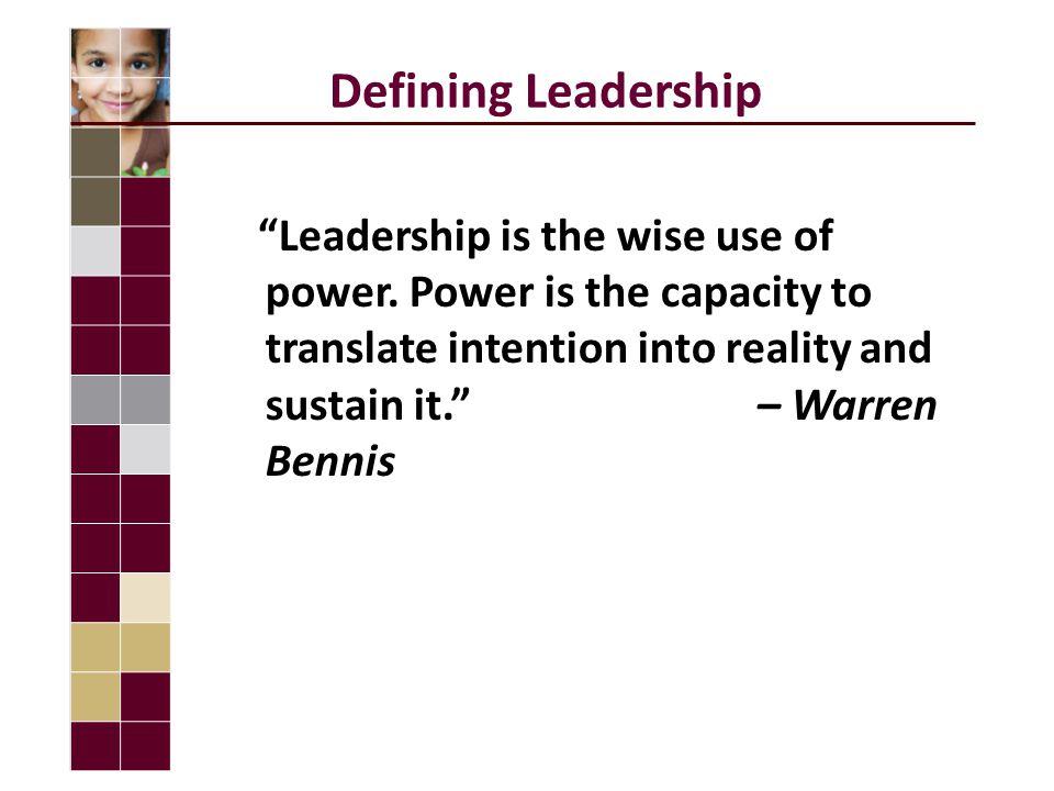 The Basic Four of Leadership Goal-setting Communication Trust Accountability Goal-settingCommunicationTrustAccountability Recognition is the accelerator.