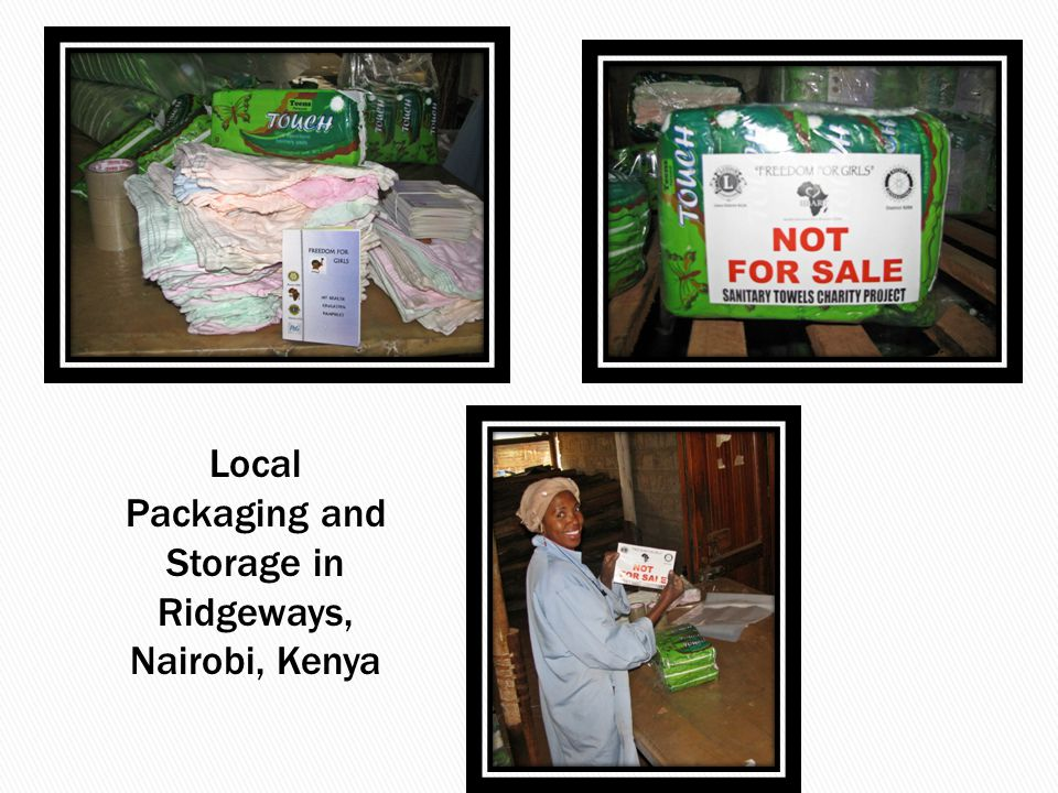 Local Packaging and Storage in Ridgeways, Nairobi, Kenya