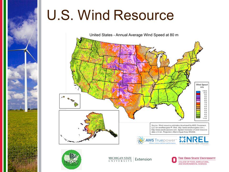 U.S. Wind Resource