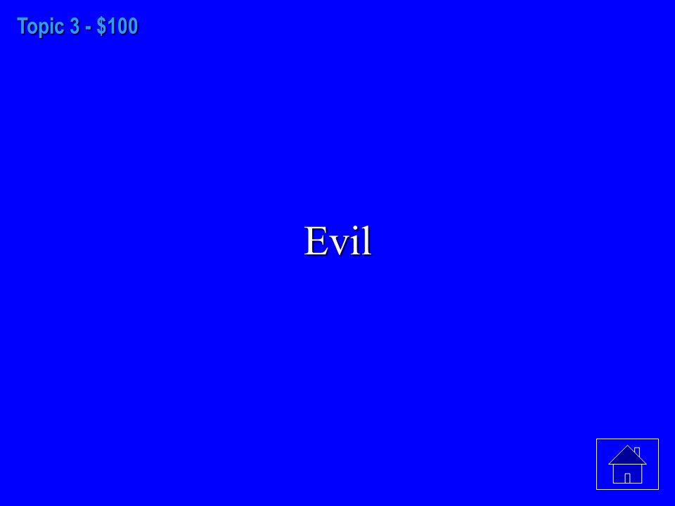 Topic 2 - $500 Putnam