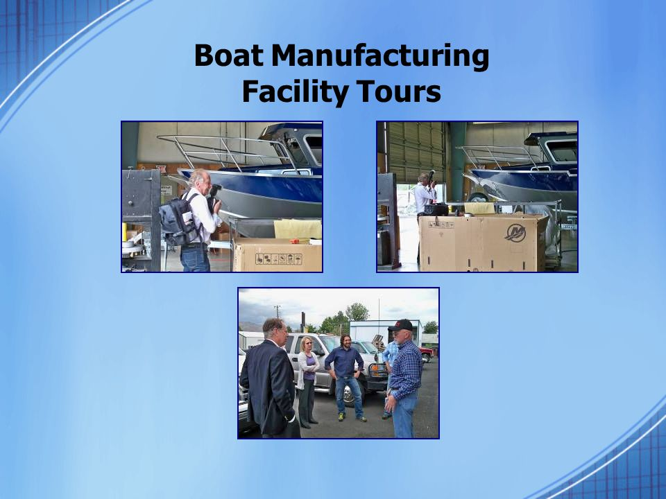 Boat Manufacturing Facility Tours