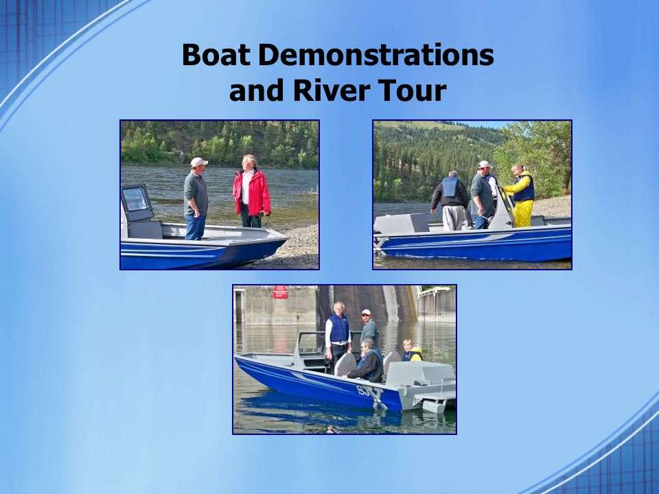 Boat Demonstrations and River Tour