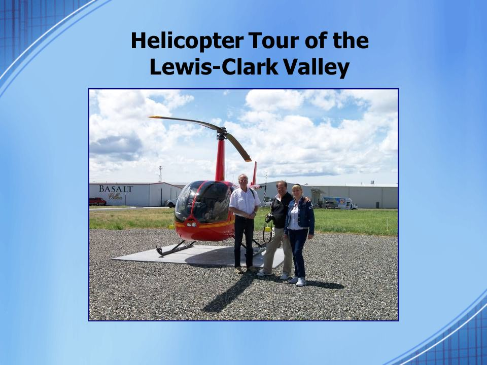 Helicopter Tour of the Lewis-Clark Valley