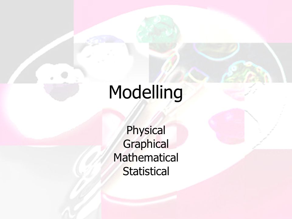 Modelling Physical Graphical Mathematical Statistical