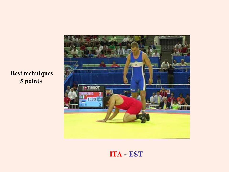 Best techniques 5 points ITA - EST