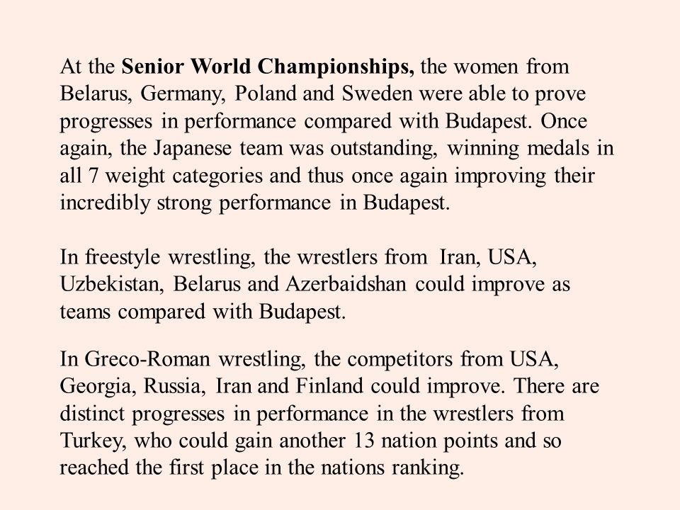 3.2 Qualitative analysis of combat behaviour of world champions Fig.