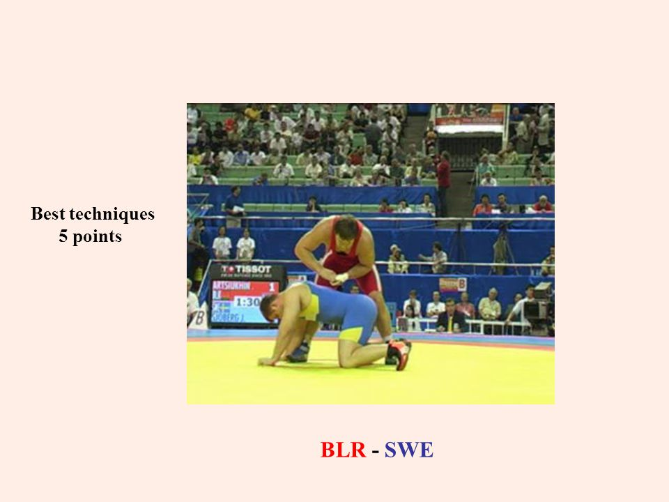 Best techniques 5 points BLR - SWE