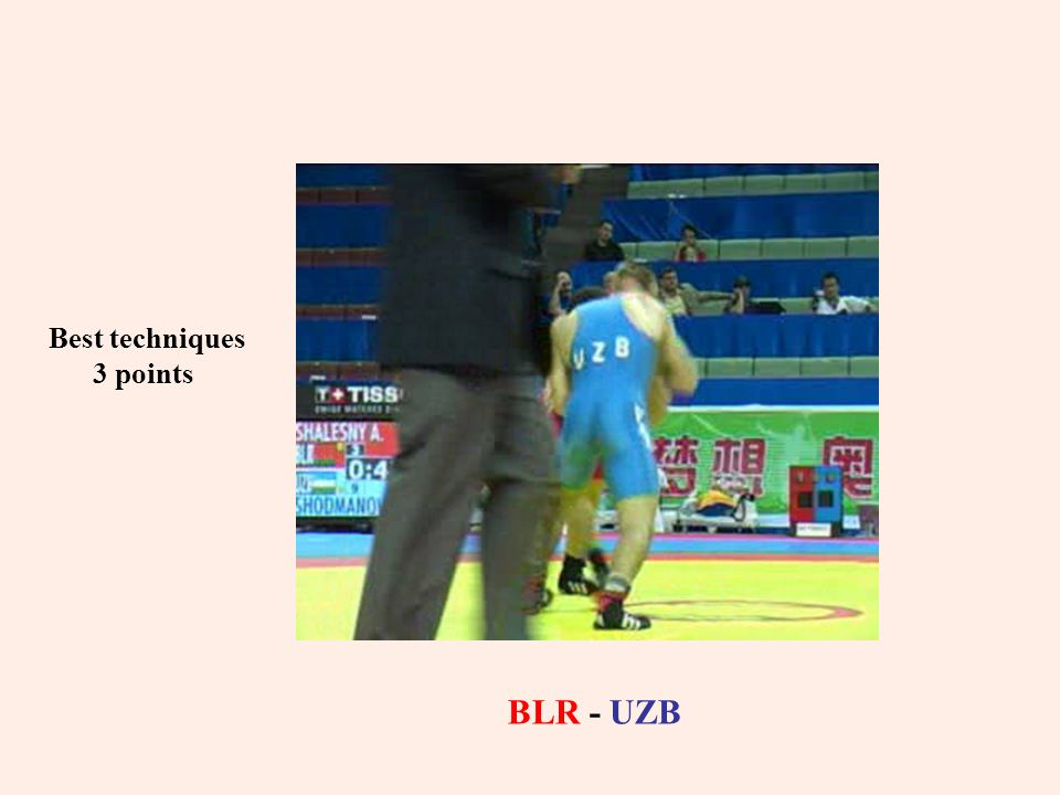 Best techniques 3 points BLR - UZB