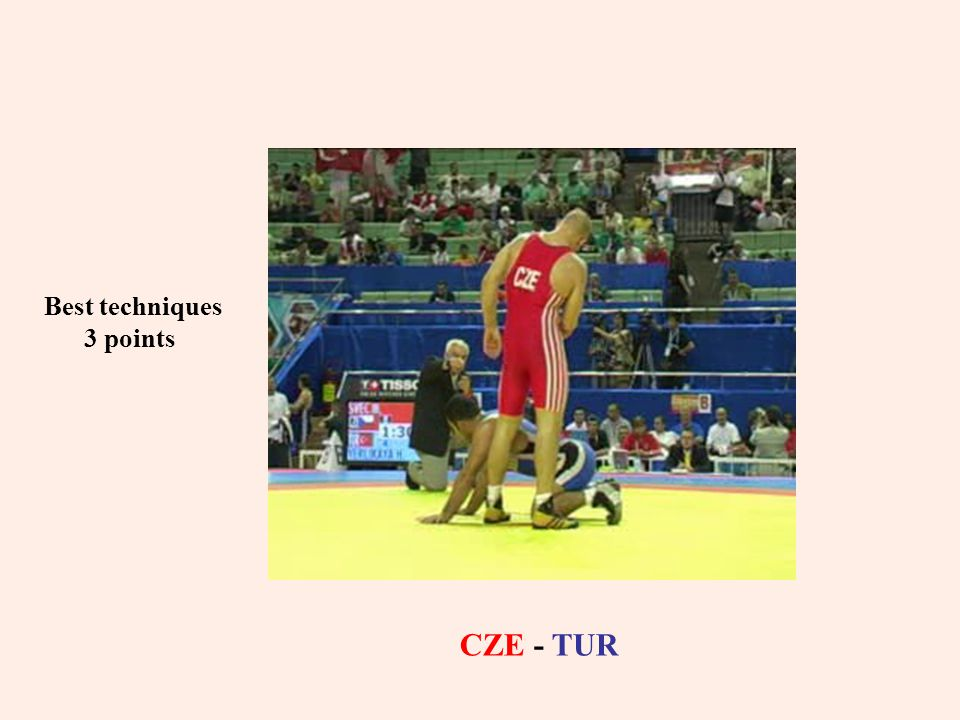 Best techniques 3 points CZE - TUR