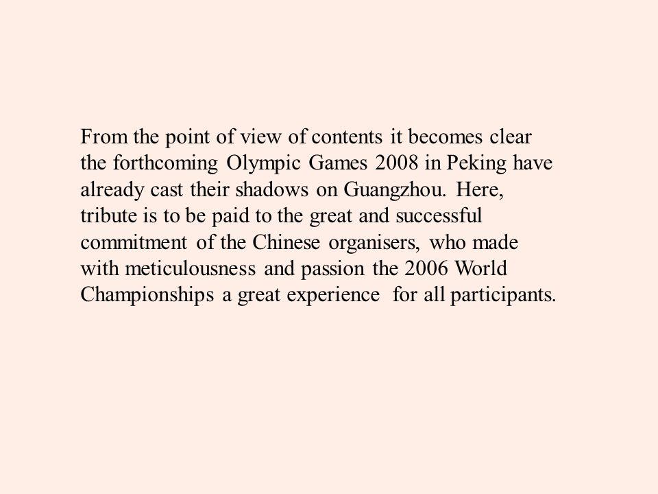 In Guangzhou, plenty of established wrestlers, like Saitiev, Barzakov, Nazarjan or Yerlikaja had to bury their hopes for medals or titles early.