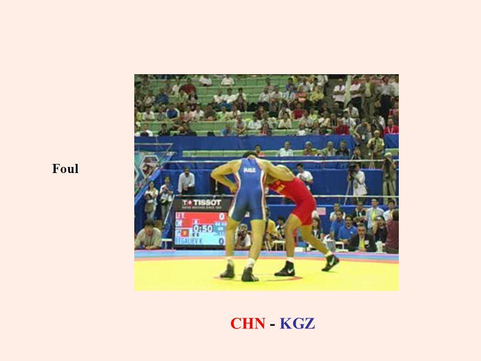 Foul CHN - KGZ