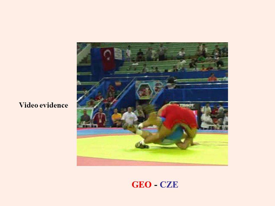 Video evidence GEO - CZE