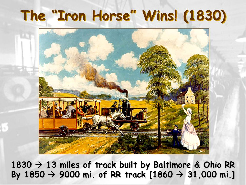 The Iron Horse Wins.