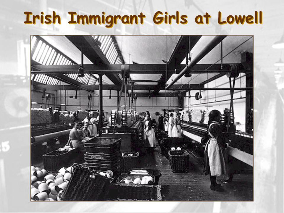 Irish Immigrant Girls at Lowell