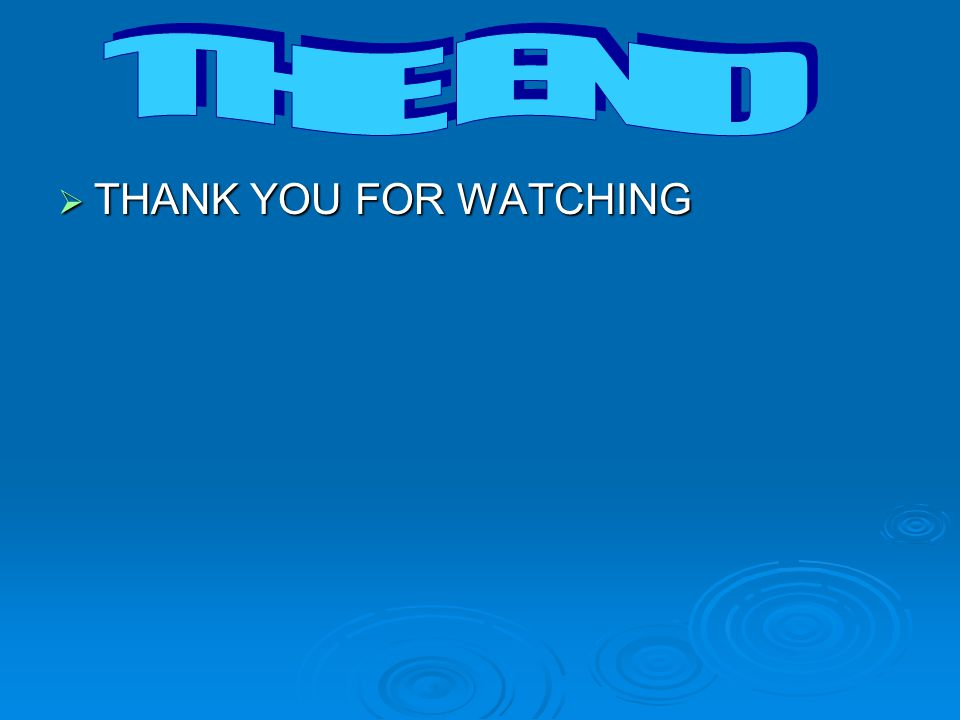  THANK YOU FOR WATCHING