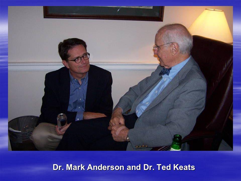 Dr. Hans Riddervold & Dr. Brian Williamson