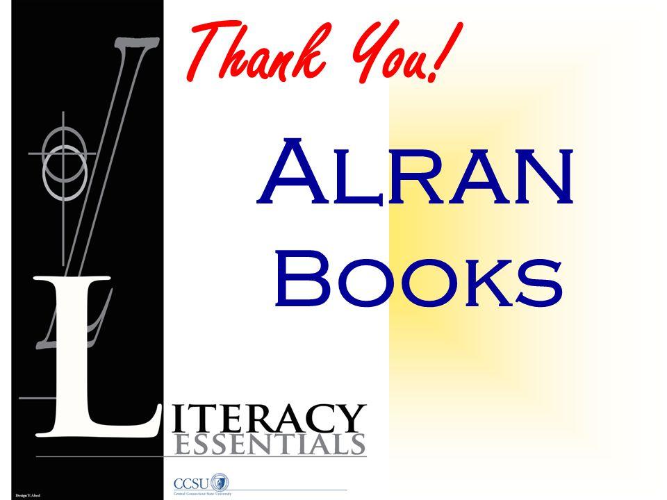 Thank You! Alran Books