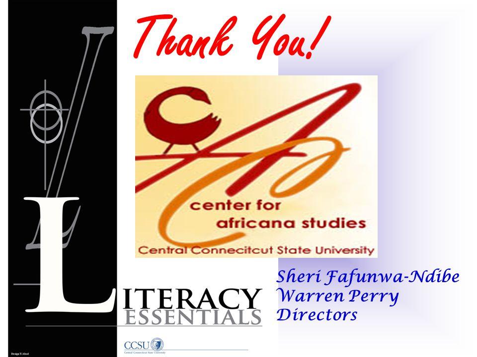 Sheri Fafunwa-Ndibe Warren Perry Directors