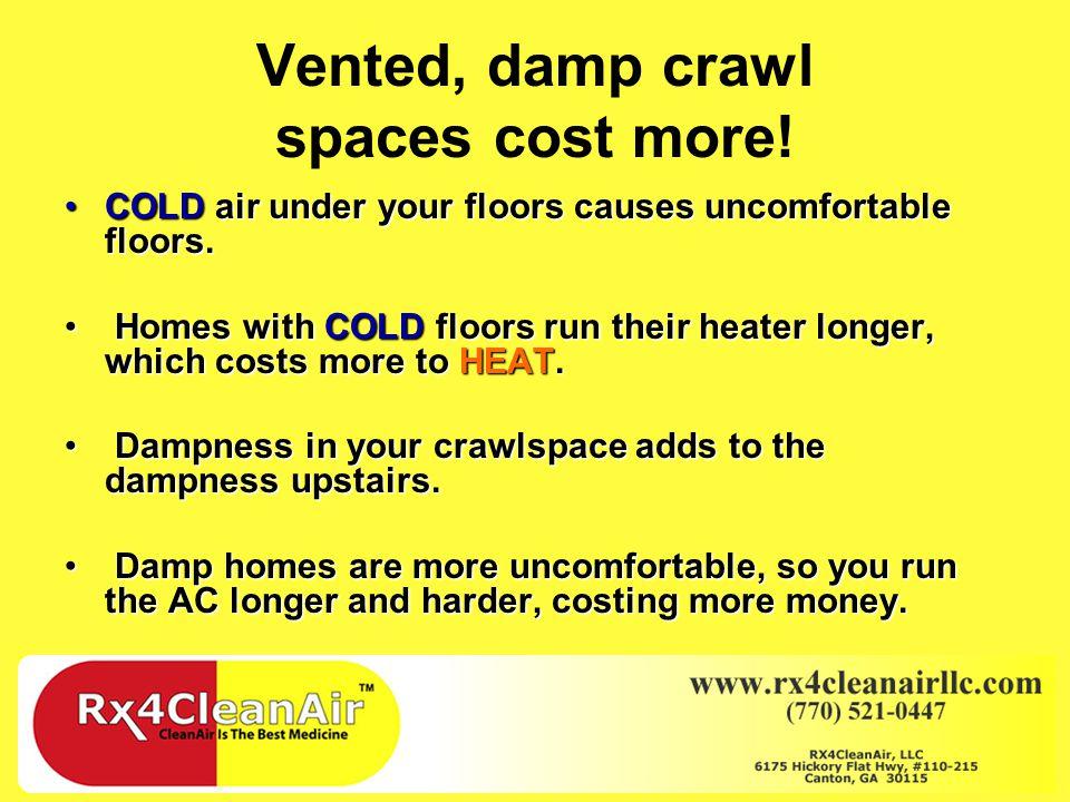 Crawlspace Repair Venting of the Crawlspace – Good or Bad