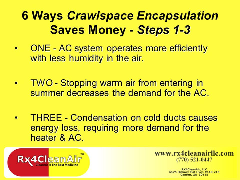 6 Ways Crawlspace Encapsulation Saves Money
