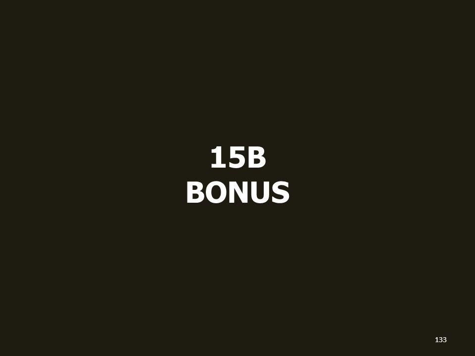 15B BONUS 133